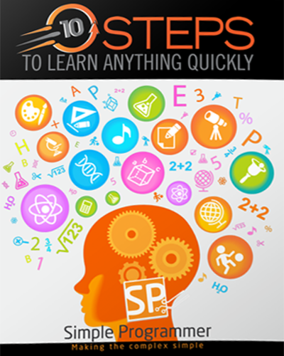 10 Steps to Learn Quickly Course Workbook Cover Image