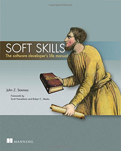 Software Developer Soft Skills Book Cover Image
